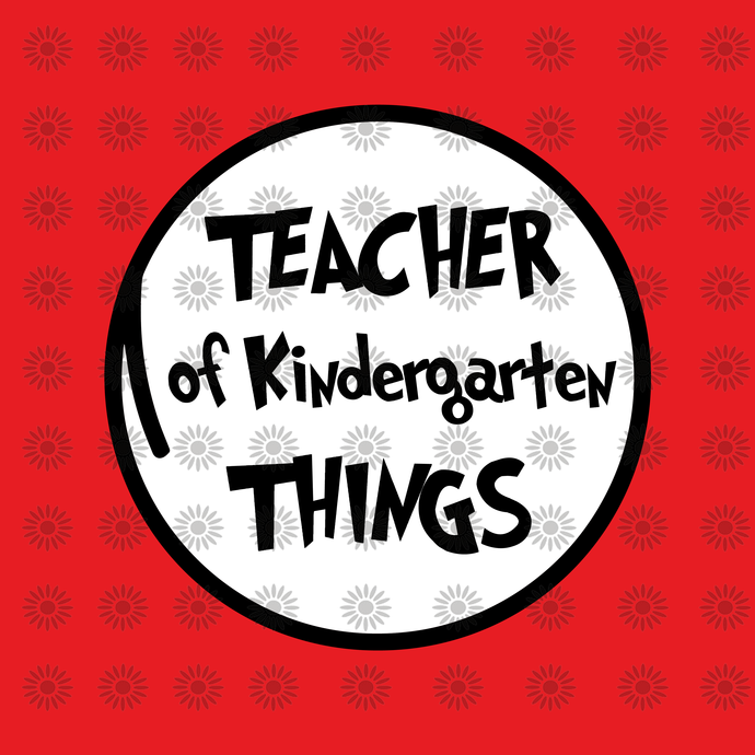 Teacher of 5th Kindergarten svg,Dr.Seuss svg,Cat in hat, Lorax, Thing one thing