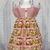 Country Style Girl Dress, Teddy Bear Dress, Pink Girl Dress, Boho Dress,