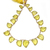 Lemon Quartz Faceted Carved Fancy Lazel cut Flawless drilled Loose Gemstone