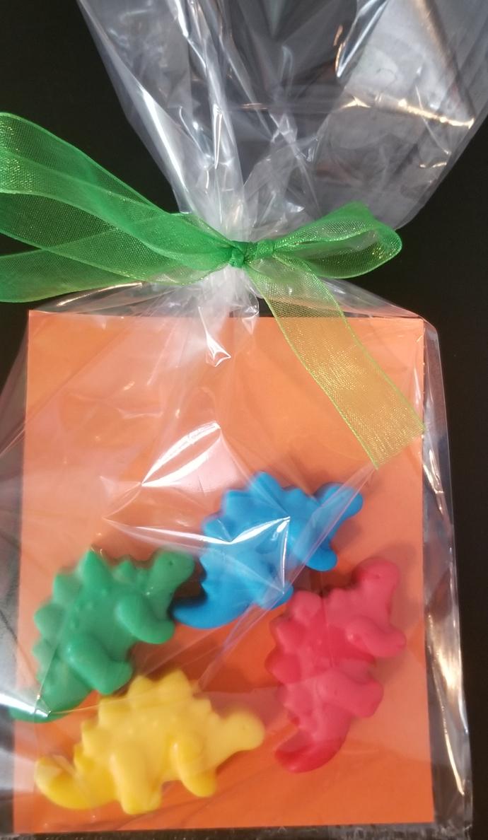 Dinosaur soap party favors, boy birthday, party favors, dinosaur, dinosaur party