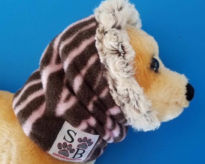 SMALL Minky Fleece Neck Cuff