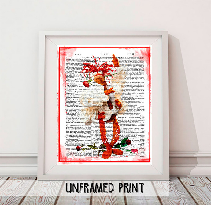 Pepe the Prawn King Kitchen Poster - Back to School Teacher Gift