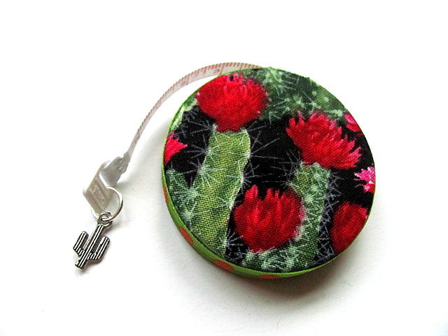 Tape Measure Flower Cactus Retractable Measuring Tape