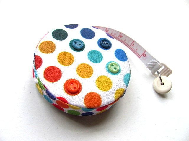 Tape Measure Just Dots Retractable Measuring Tape