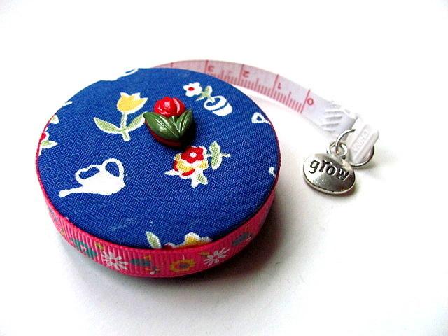 Retractable Tape Measure Blue Garden Small Measuring Tape