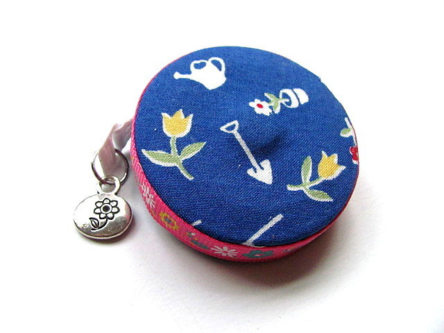 Retractable Tape Measure Blue Garden Small Measuring Tape