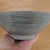 Pottery Grey Striped Bowl, Small Serving Bowl, Dessert Bowl, Cereal Bowl, Cermic