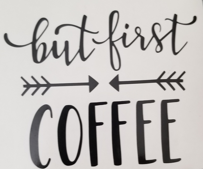 Decal, coffee decal, decal for cup, decals, coffee lover, teacher gift, coworker