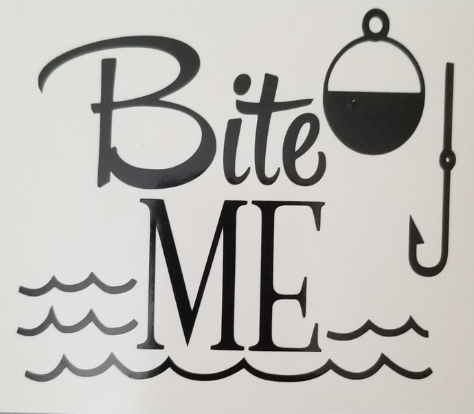 Fishing decal, decal, cup decal, man decal, funny decal