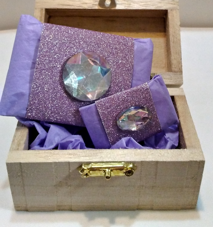 Gold Tortoise Glass Cube Statement Bracelet Beaded Crystal handmade jewelry