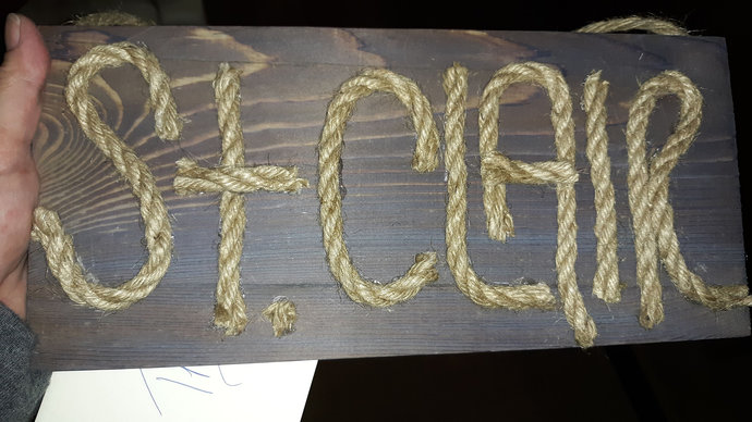 Personalized wooden name signs!  Nothing better than to see your name on an