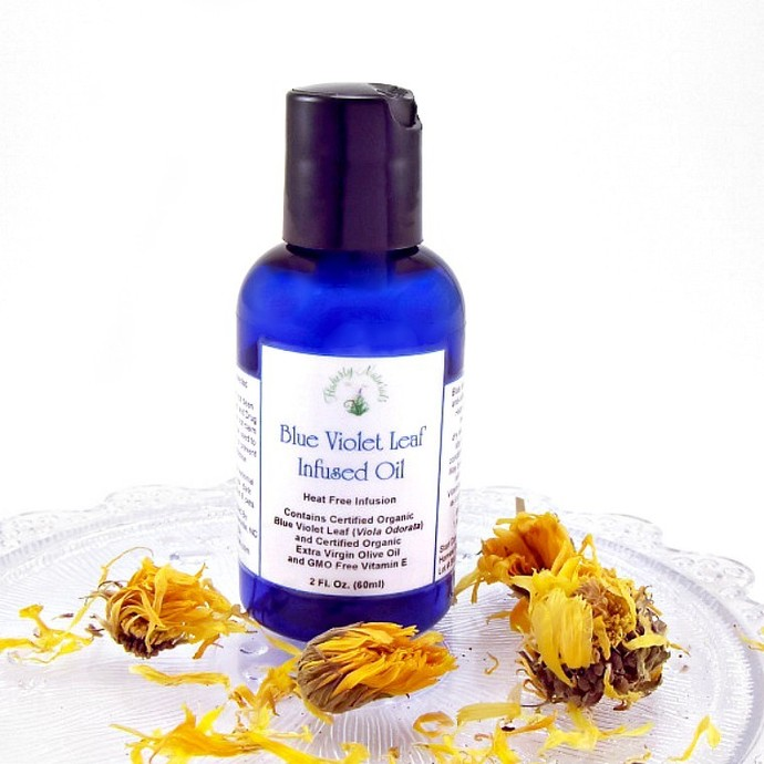 Blue Violet facial oil a moisturizing face oil for oil cleansing and organic