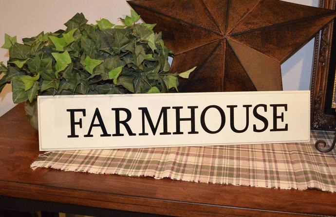 Farmhouse Sign- Farmhouse Decor- Wooden Sign- Wall Decor Sign- Home Decor- Entry