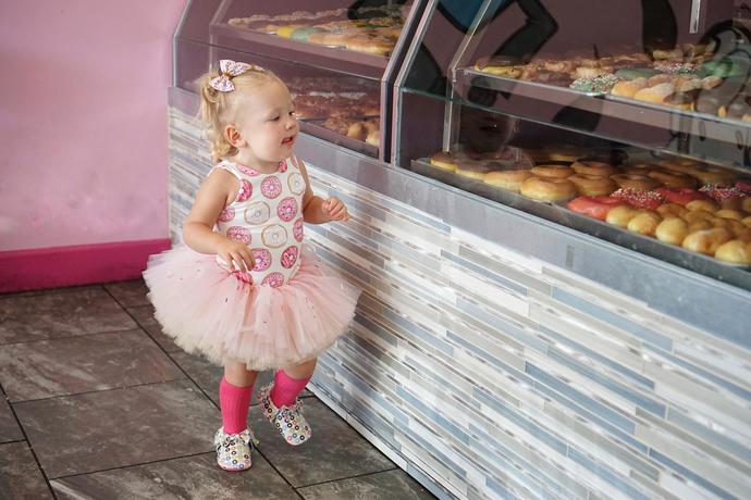 Donut Tutu - Birthday Tutu - Adult Tutu - Donut Birthday Tutu