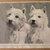 WEST HIGHLAND TERRIER dog print Vintage1935 print bookplate dog Unique