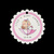 10 Personalized Girl Baby Shower Tags for Party Favor Thank You Gifts, Treats,