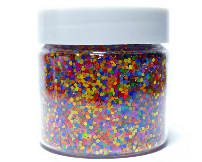 Over The Rainbow - Holographic Loose Cosmetic & Craft Glitter Mix
