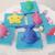 Bathtub Toy cocoa butter soap, bathtub toy, kid soap, set of 6