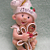 Child Hugging Gingerbread Personalized Ornament