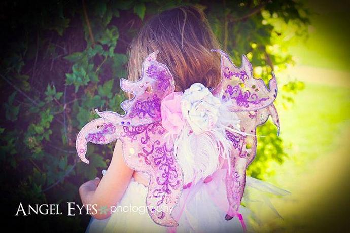 Custom designed fairy wings