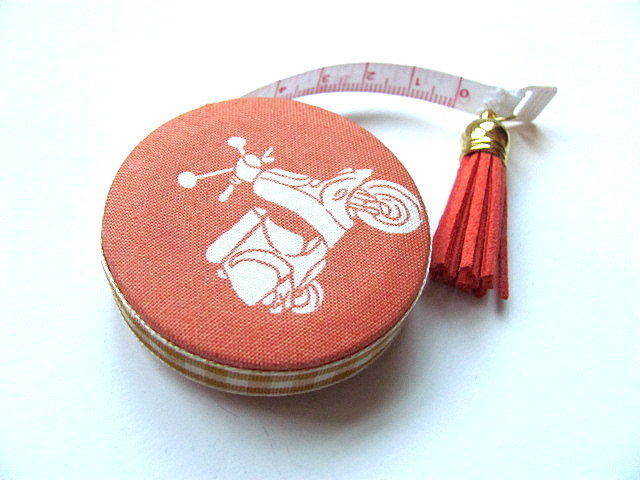Tape Measure Motor Scooter Retractable Measuring Tape