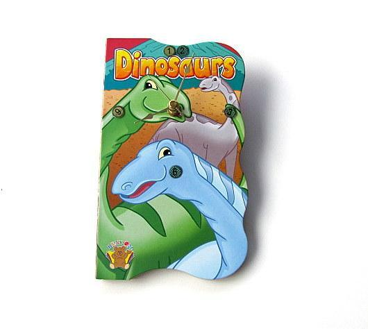 Dinosaur Book Clock