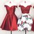Cute Off the Shoulder Satin Wine Red Short Homecoming Dress Prom Gown