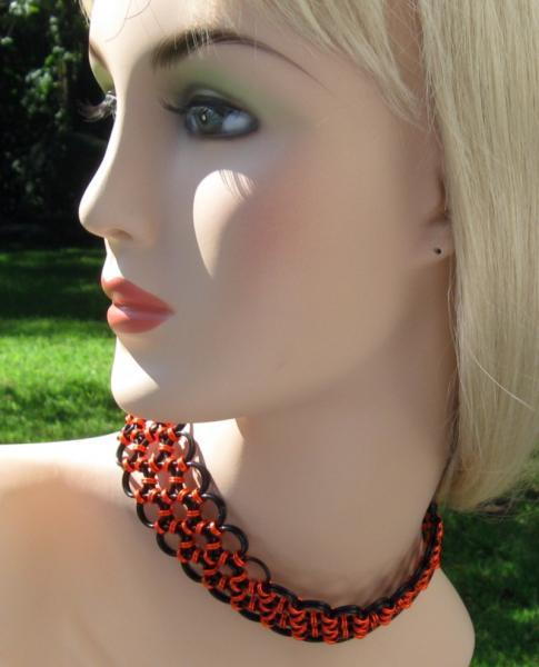 Autumn Enchantress Chainmaille Choker