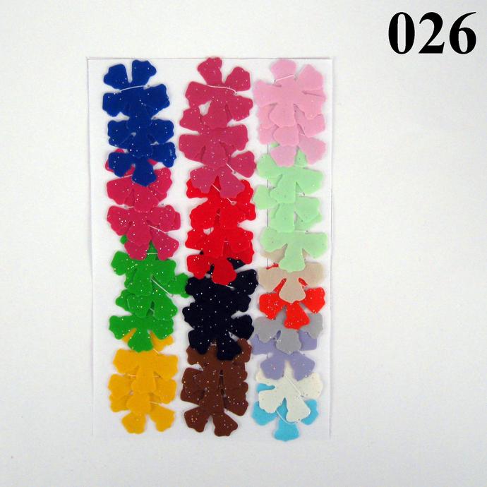 Colorful Light Weight Vinyl Die Cut Flowers