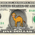 CAMEL Animal on a REAL Dollar Bill Collectible Cash Money Gift
