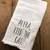 Alexa Feed The Cat Towel, Funny Kitchen Towel, Farmhouse Flour Sack, Decorative