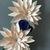 Paper Flower hoop wreath.