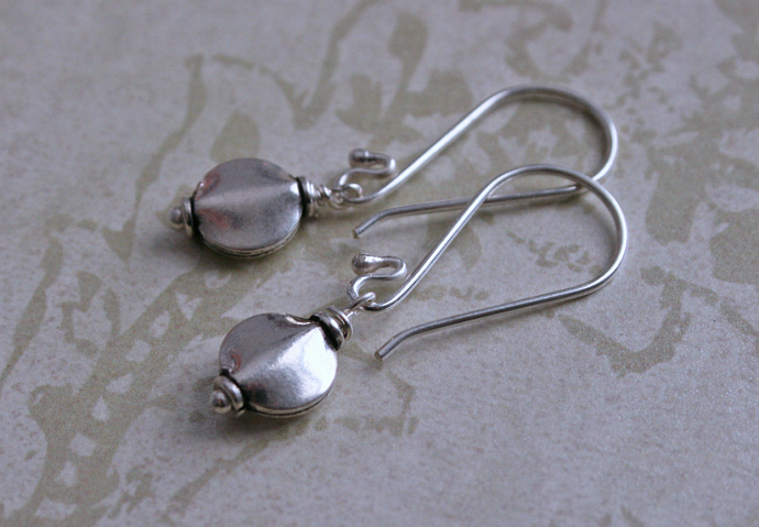SIMPLY SILVER Sterling Drop Earrrings