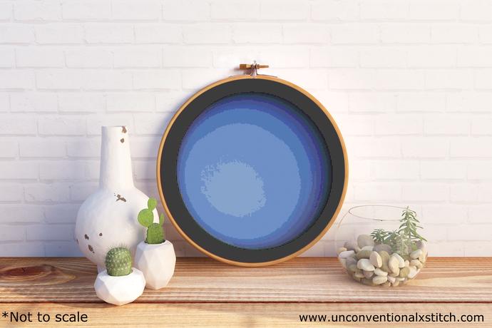 Uranus cross stitch pattern