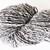 Handspun Yarn –Alpaca and Polwarth Wool Blend – 100 grams – Sport Weight – Black