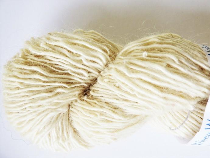 #627 fingering weight Handpun yarn