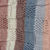 Hand Knitted Soft Striped Patterned Baby Blanket In Greys And Pinks - FREE