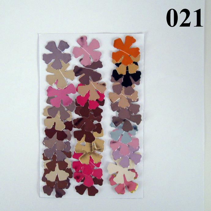 Glossy Vinyl Die Cut Flower Variety Set