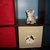 Cat Storage Fabric Bin Kids Boys and Girls Playroom Kids Bedroom Cat Toys Home