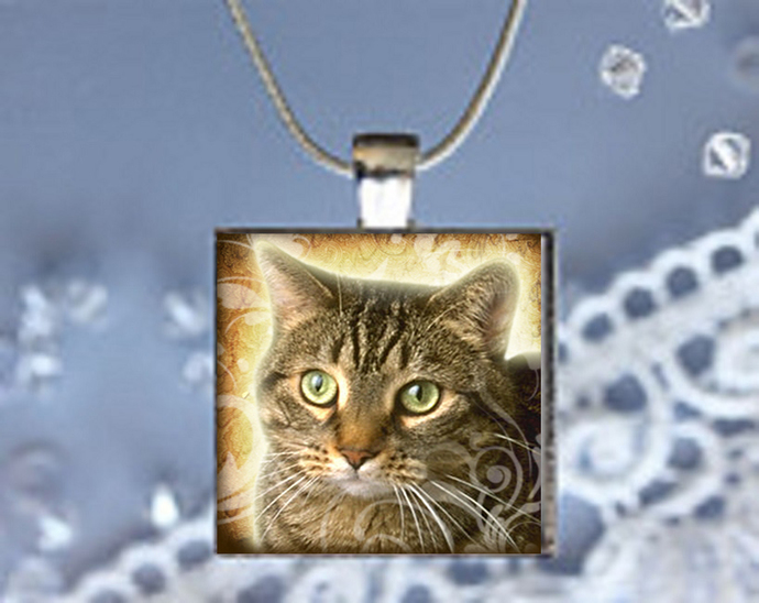 Pendant Necklace, Cat