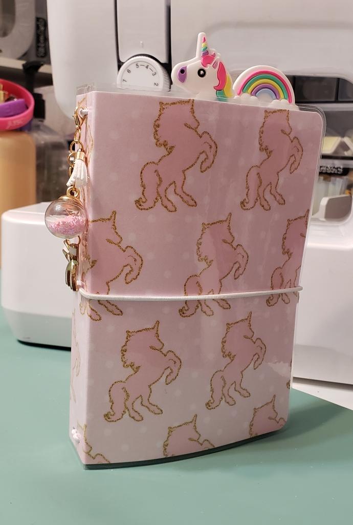 Unicorn pocket travelers notebook