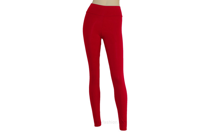 Red Yoga Leggings Jersey Tights Plus Size Pants High Waisted Leggings Ballet