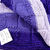 Hand Knitted Patterned Bay Blanket In Various Purple Colours - FREE SHIPPING