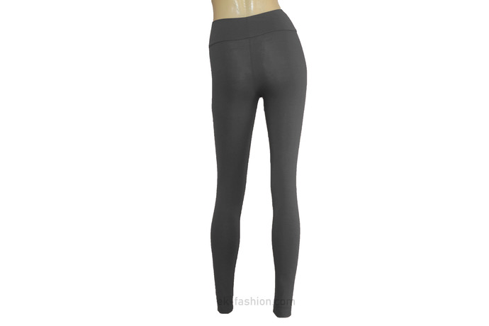 Gray Jersey Leggings Ballet Tights Plus Size Yoga Pants High Rise Leggings Soft