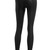 Black Leather Leggings Sexy Mid Rise Tights Slim Fit Pants Plus Size Gothic