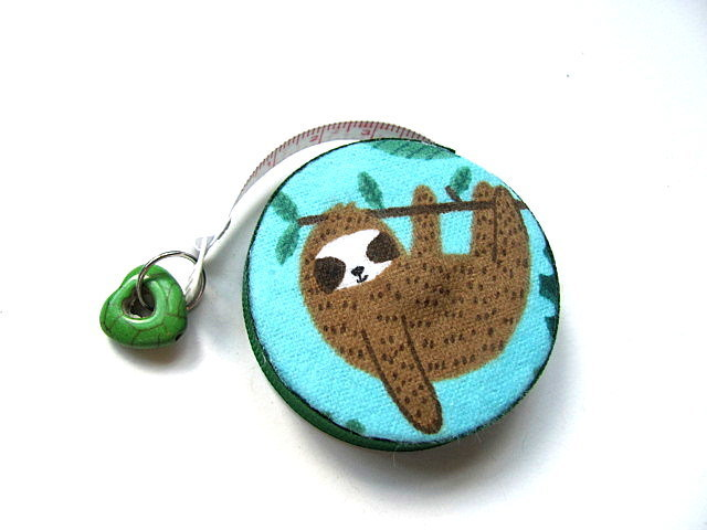 Tape Measure Fun Sloths Small Retractable Measuring Tape