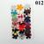 36 Assorted Vinyl Die Cut Flowers Variety set