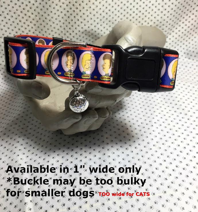 "Beavis and Butthead, TV, animated, Cartoon, 1"" wide adjustable Dog collar,"