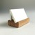Wood Business Card Holder Office Accessory in Choice of Light, Medium, or Dark