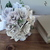 Keepsake Wedding Bouquet handmade with Paper Flowers and Faux Hydrangea,